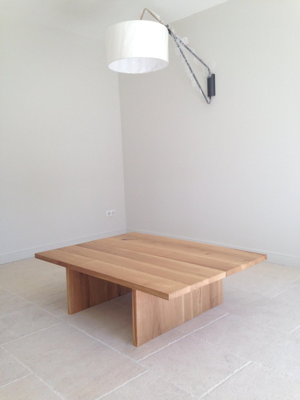 Table basse - Chêne massif