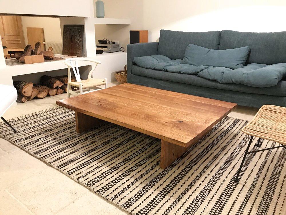 Table basse - Chêne