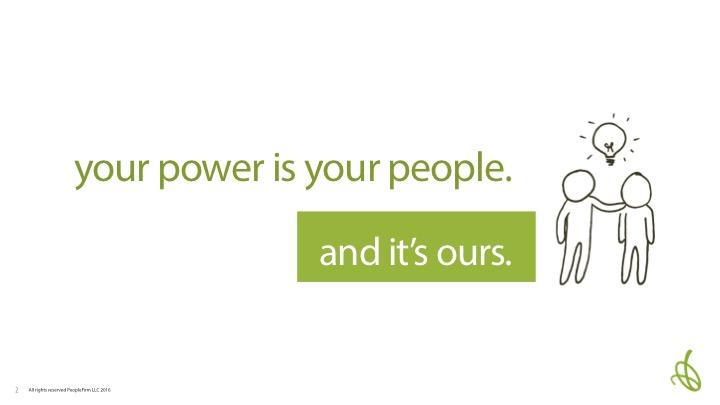 PeopleFirm - Information Design