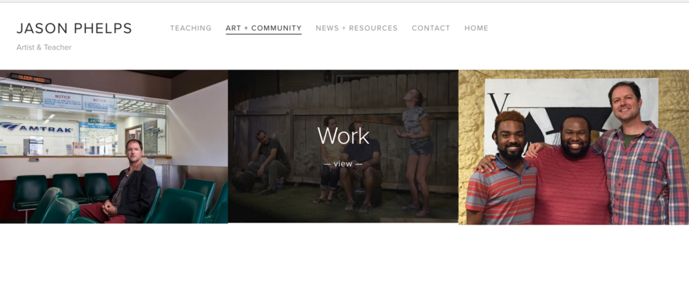 Jason Phelps - Branding & Web Redesign
