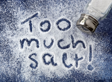 salt intake and obesity