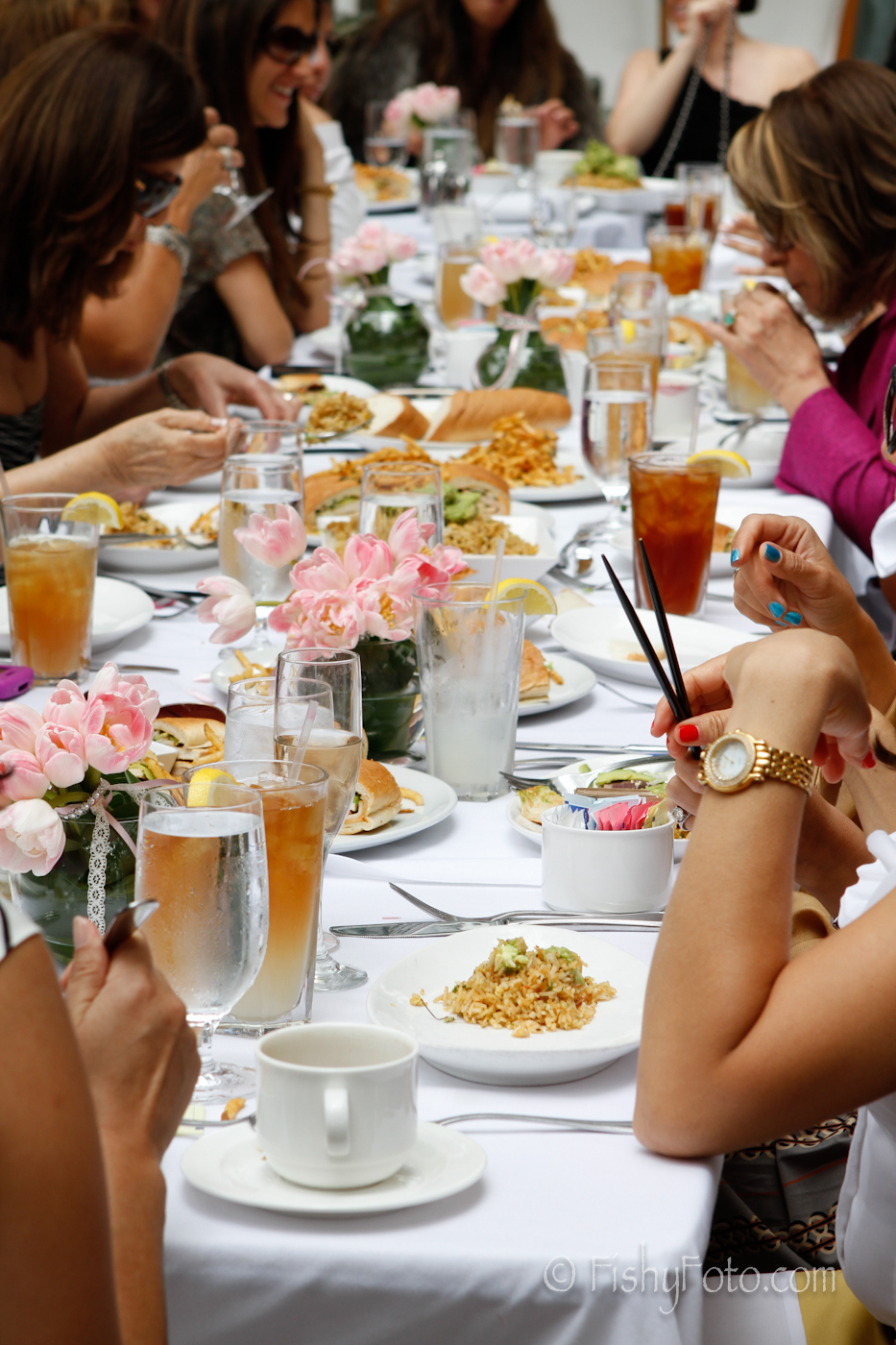 Baby shower at the Mondrian Hotel in Los Angeles #fishyfoto