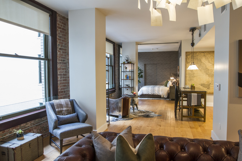 #L2Interiors Open Concept Condo on Spring Street