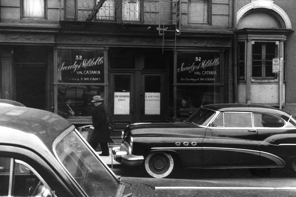 Society of Militello - Angelo Majorana, Little Italy, Manhattan NYC 1957