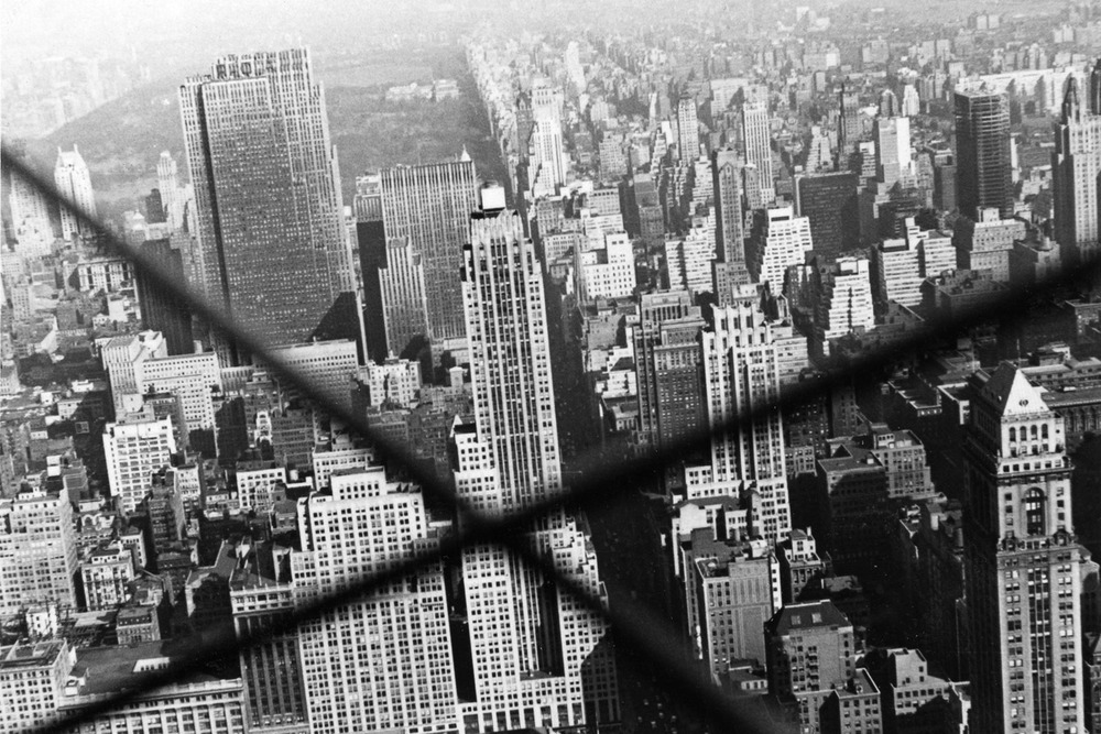 View of Manhattan from the Empire State Building, New York City 1957