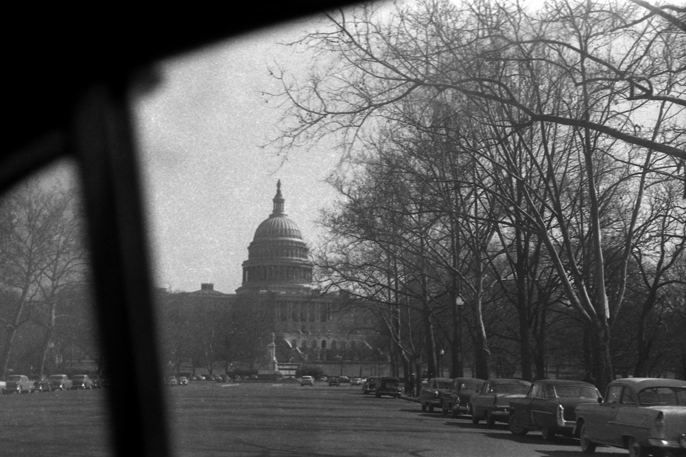 United States Capital, Washington DC 1957