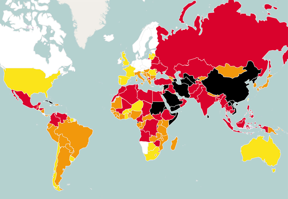word press freedom index
