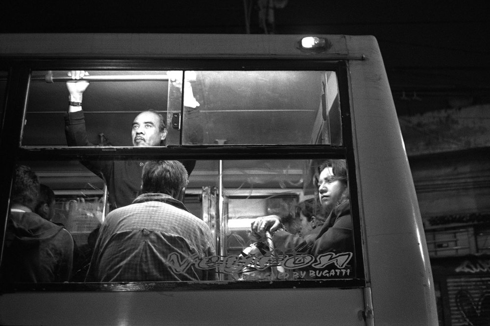 Bus in Mexico City from my project Mexicana, more HERE.