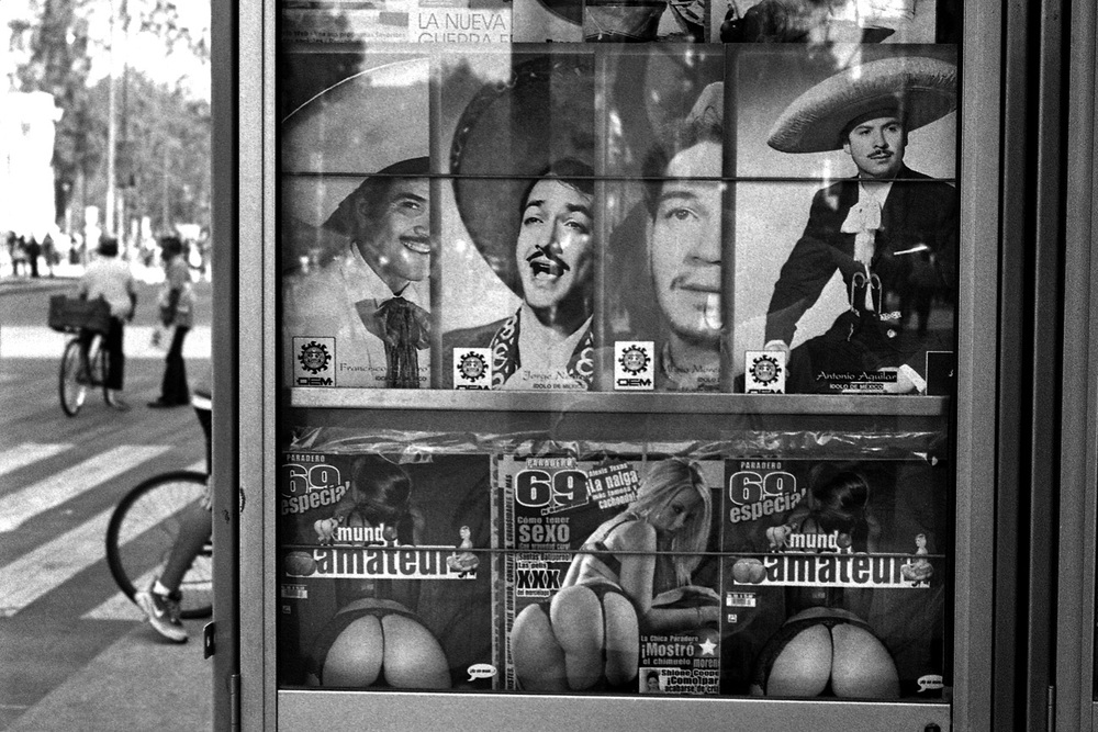 A newsstand in Mexico City, December 2012