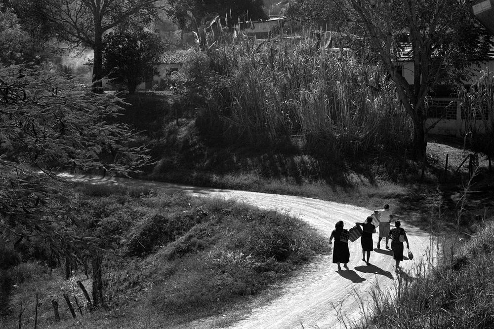 Working women in Chiapas,December 2012