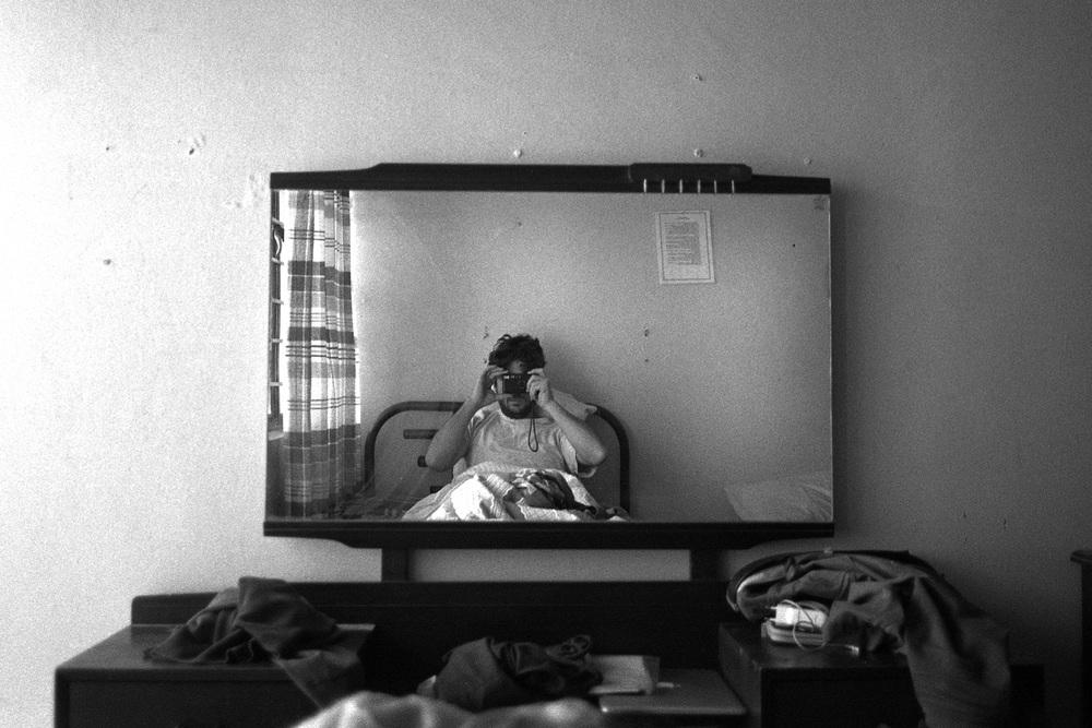 Self portrait (Chiapas)December 2012