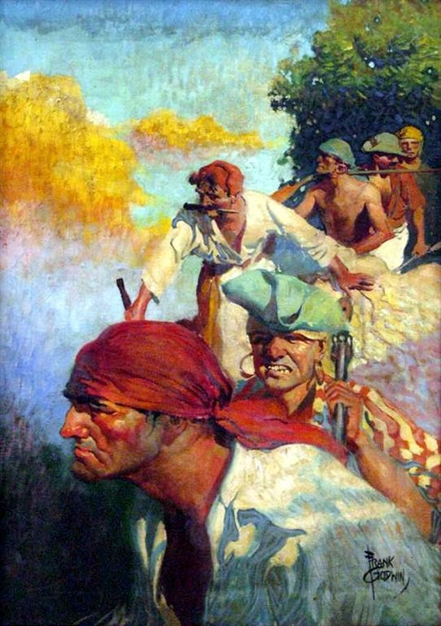 Treasure Island by Frank Godwin