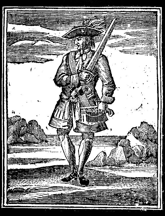 "Illustration from ""General History of Pyrates"""