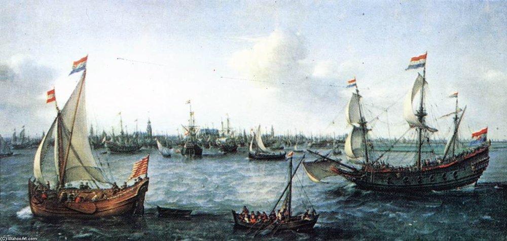 Hendrick+Cornelisz+Vroom-The+Harbour+In+Amsterdam.JPG