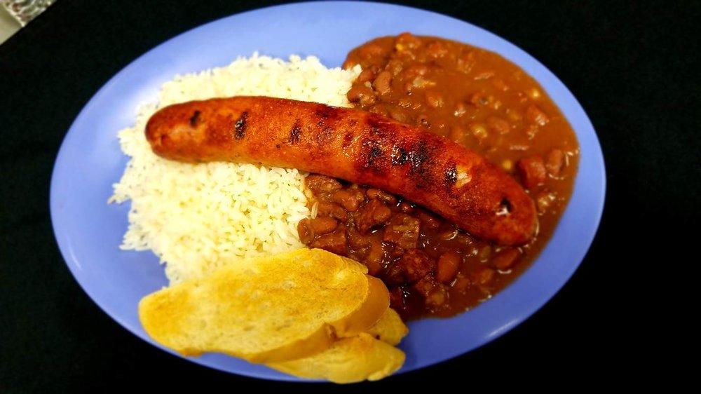 Cajun Sausage w/ RB & Rice