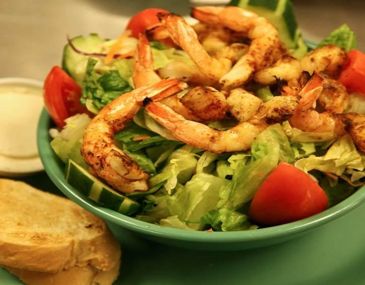Grilled Shrimp Salad