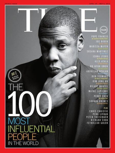 Its amazing how accepted hip hop music is, and part of the mainstream. Growing up hip hop was hardly on the cover of mainstream music magazines, let alone the cover of Time Magazine. Time Magazine has named Jay Z is the most influential person in the world. It is hard to disagree with them, look at the media firestorm that was created from a trip to Cuba. He is still one of the biggest names in music, he once owned a basketball team, and brought them into the city he grew up in. It is exceptionally impressive when a vice president, a dictator, and a pope are also listed in the same magazine.   We just got our new hat designs in, keep checking on our website they will be up on there soon!    www.haberdasherclothing.com