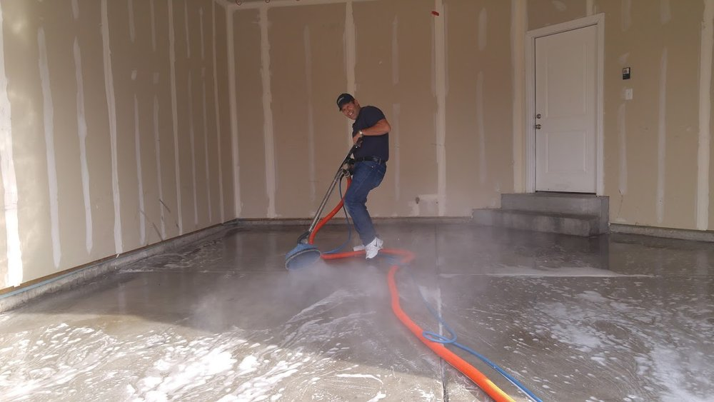 garage floor cleaning service in utah county alpine