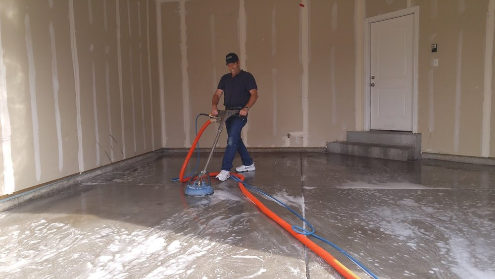 Garage floor cleaning service in utah county alpine for Garage floor maintenance
