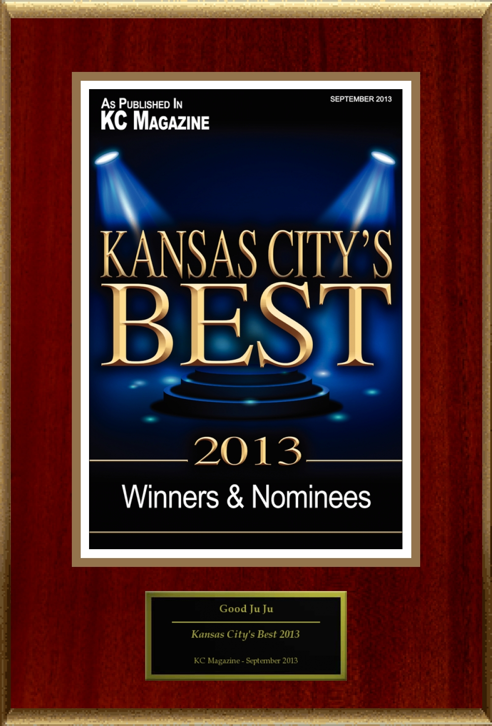 KC Magazine City's Best Award 2013