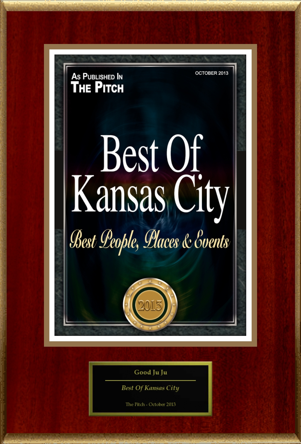 The Pitch Magazine City's Best Award 2013