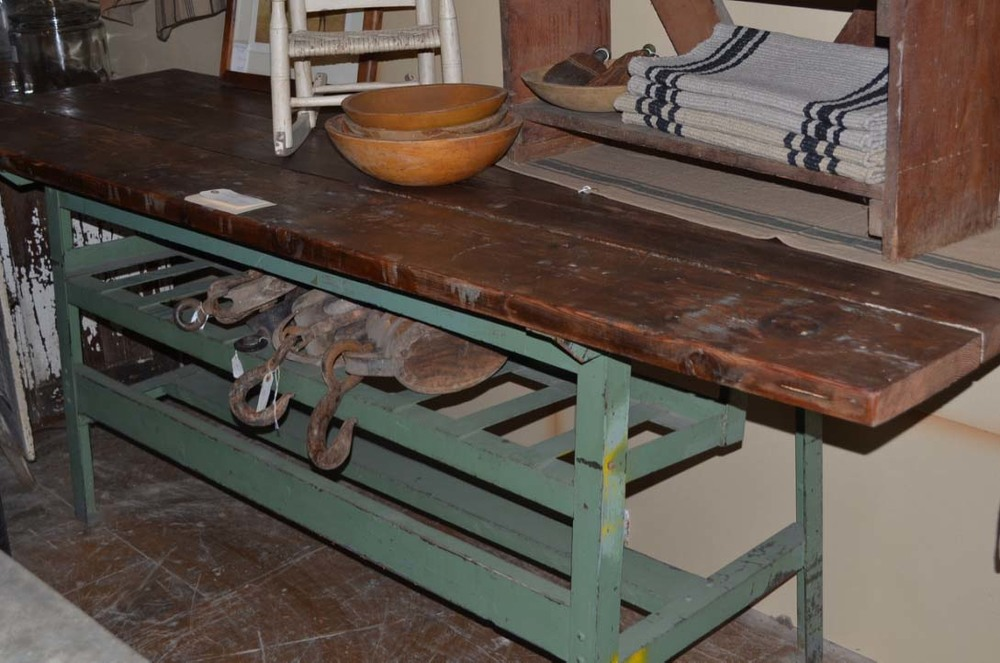 Industrial work bench or table 8' long