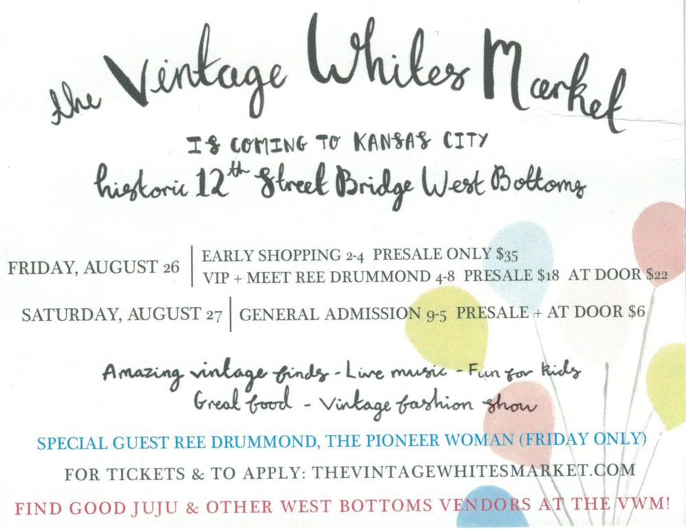 The Vintage Whites Market - Kansas City