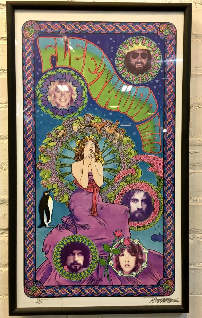 Fleetwood Mac Autographed Print