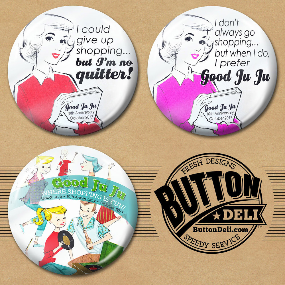 Free Button w/ GJJ Purchase