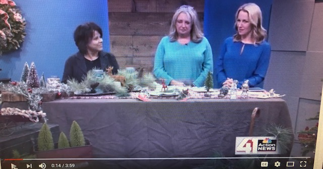 Owners Pam Kenney and Penny Sweeney talk about Farmhouse Style Decorating for the Holidays.