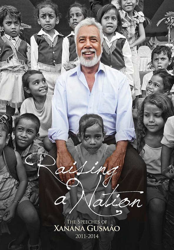 Self-published book for Xanana Gusmao