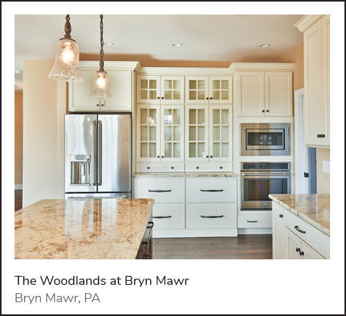 The Woodlands  is Bryn Mawr's exclusive enclave of 14 luxurious custom homes starting at $1.1 million in the Radnor School District.