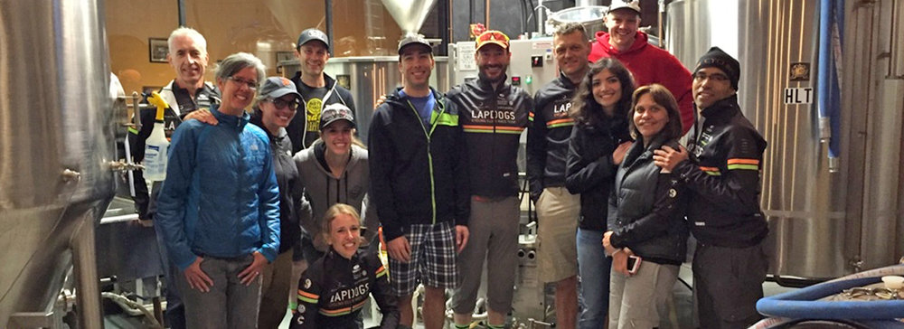 What better way to wrap up the Fall Epic 8 and the end of the MTB Race season than with a brewery tour at Barnstormer Brewery.