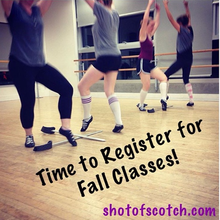 Highland Classes get going Sept 11 at Broadway Ballroom.