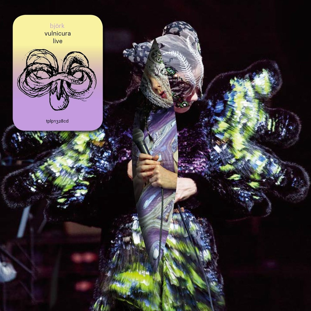 "Björk -   Vulnicura Live   Vinyl. ""The album is made up of björk's favourite performances from her 2015 tour, including all songs on vulnicura plus some of favourites from previous works."""