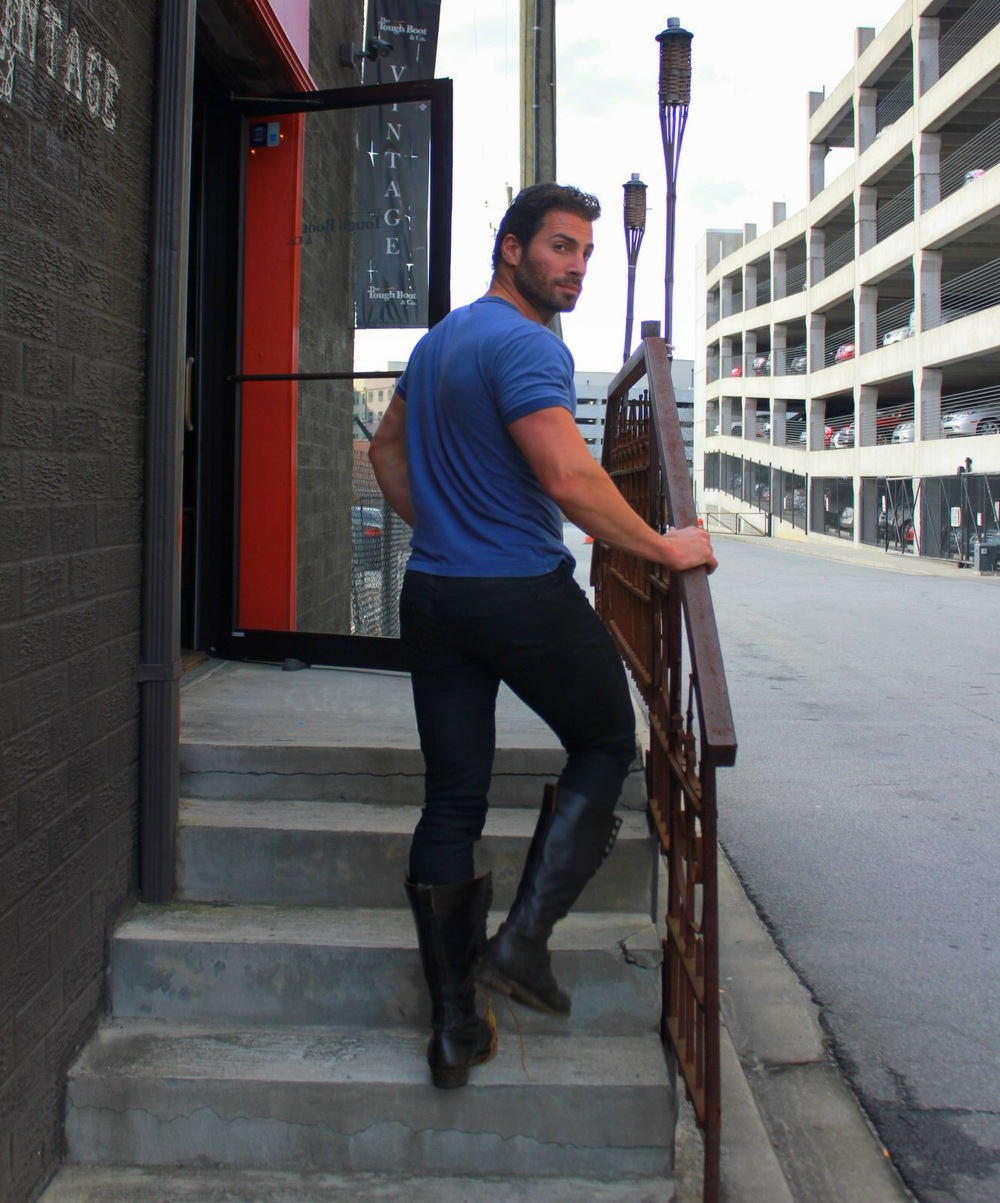 Shot on location | west midtown | the tough boot |  clothes by the tough boot | photographed by maryan aiken for paperglass.