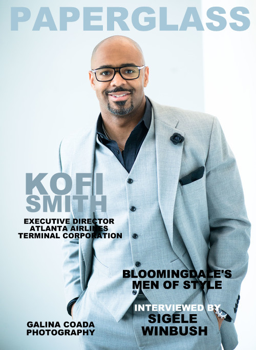 He manages the largest and the busiest airport in the world, meet the executive director of atlanta airlines terminal corporation,  mr. kofi smith.