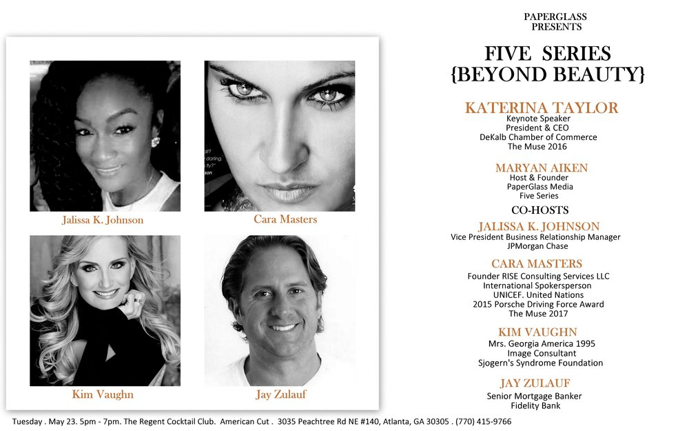 Beyond Beauty co hosts. enlarge to see the details.