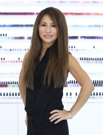 beyond beauty co host,  peiru kim.