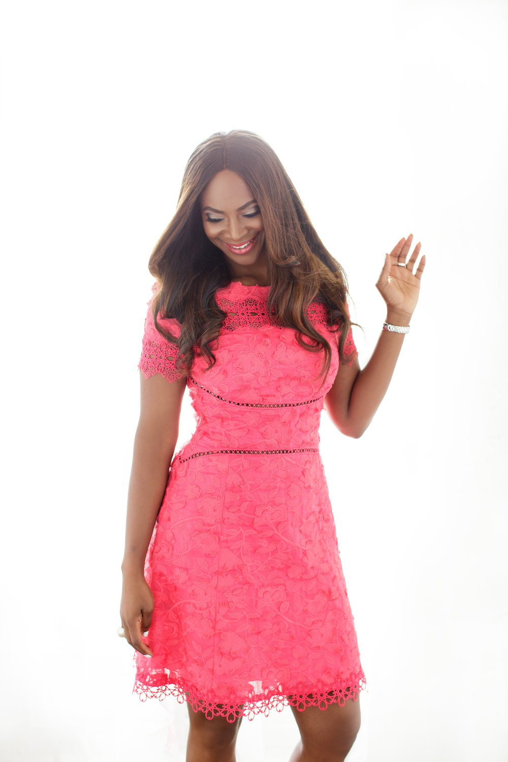 Iyabo Book Launch-Salmon Dress.jpg