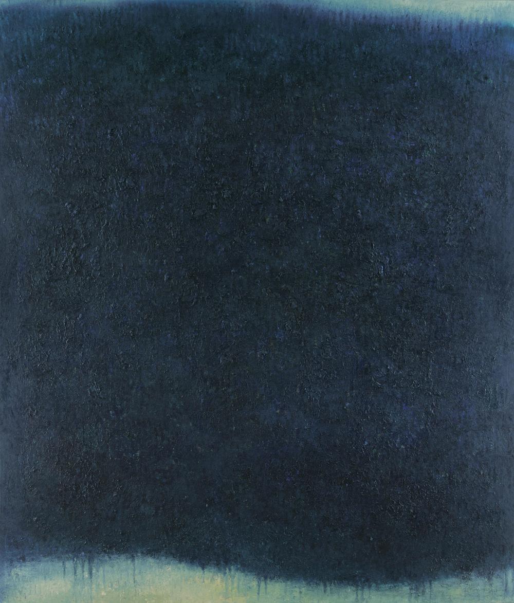 """""""Ohne Titel"""" (für CDF) / 200 x 170 cm / Öl auf Leinwand / 2011"""