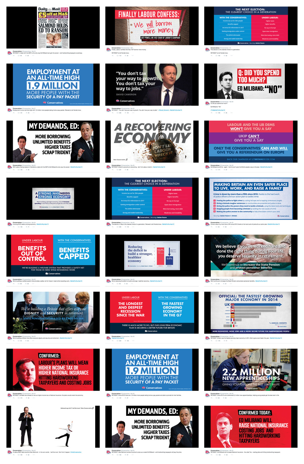 Images from @Conservatives / 23 March - 29 March
