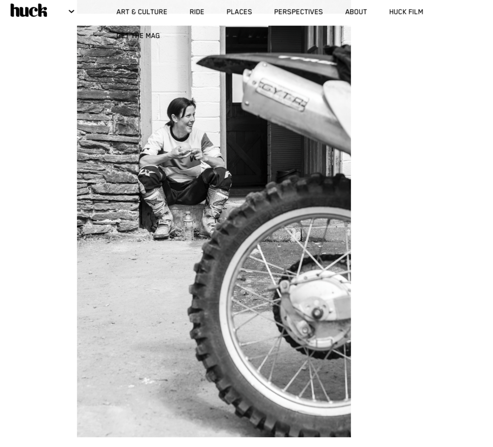 HUCK MAGAZINE BY ANDREA DUSOUTO
