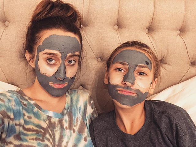 sisters who face mask together, unlock immortality together