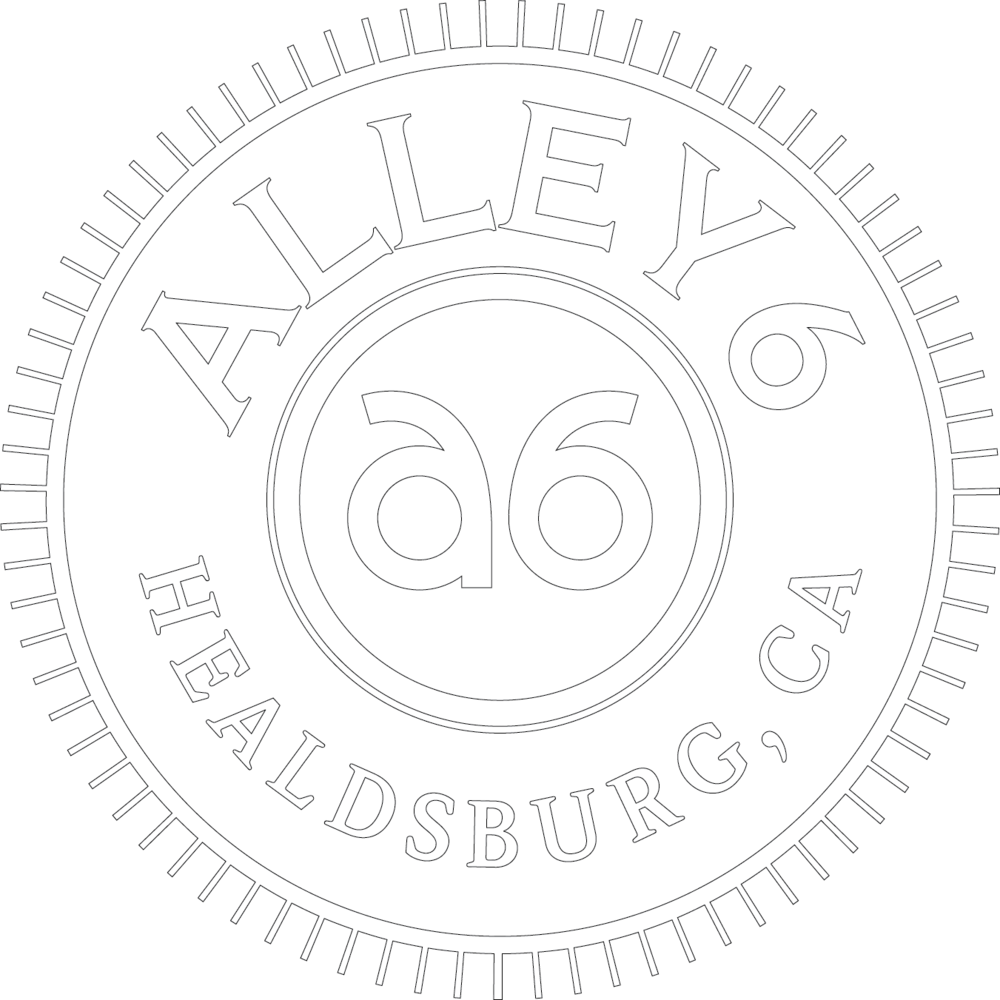 Alley 6 craft distillery in Healdsburg, California