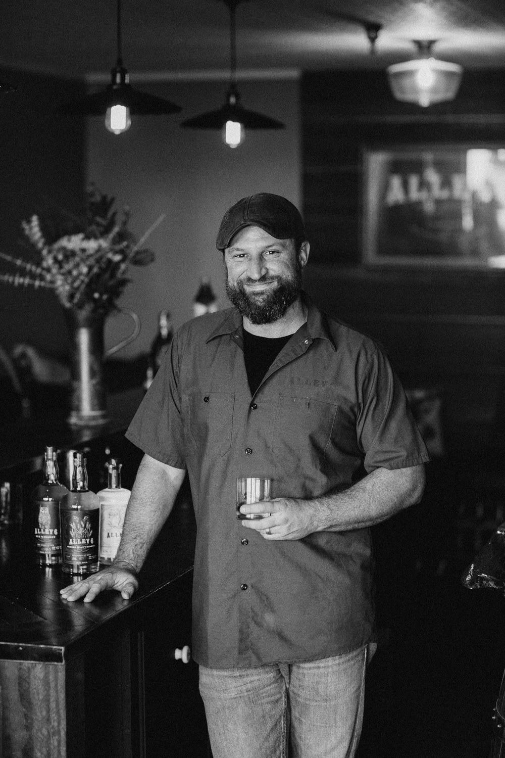 JASON JORGENSEN Co-Founder & Head Distiller, he likes booze, more so than anyone else.
