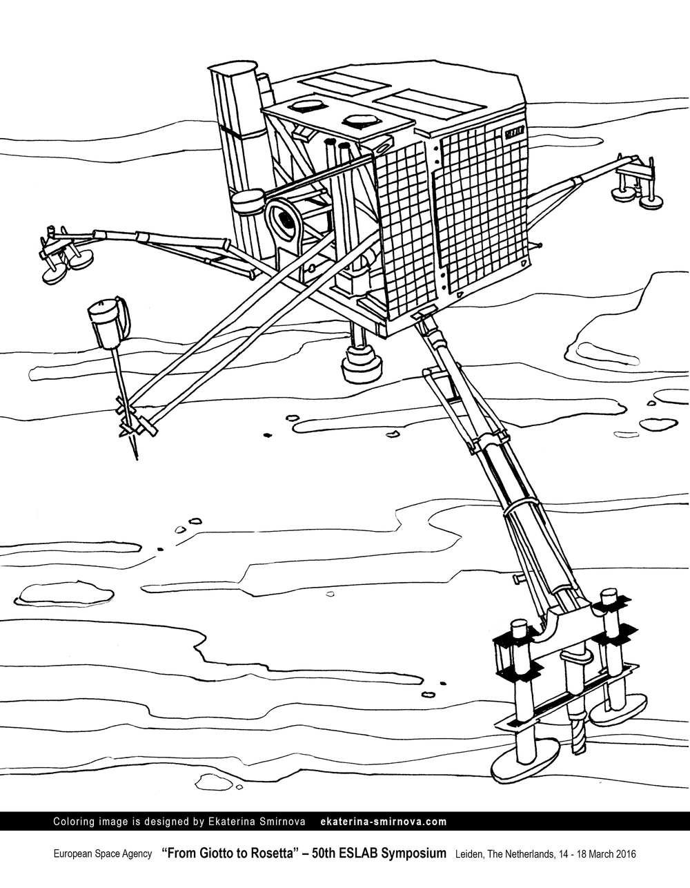 Philae robotic probe