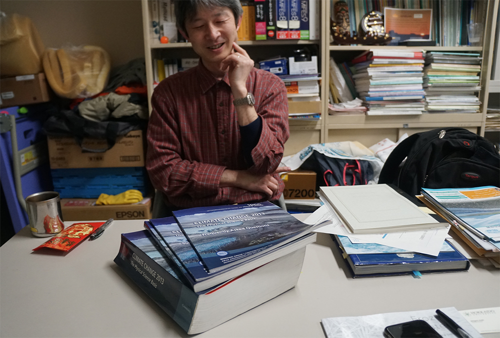Prof. Shigeru Aoki, Physical Oceanography, Antarctic Cryosphere.