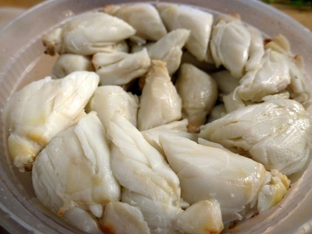 Lump Crab Meat from Freeman's Fish Market