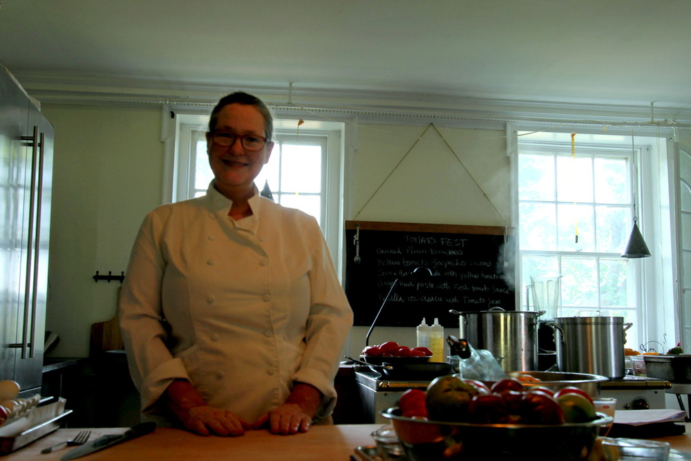 Chef Shelley Wiseman at The Farm Cooking School